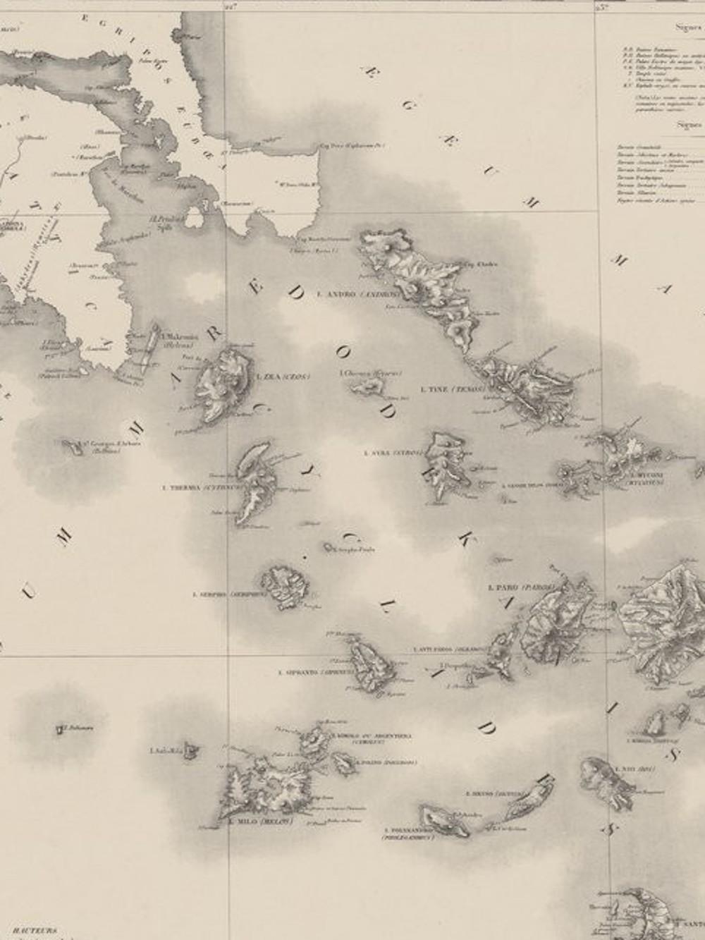 Préparer un voyage dans les Cyclades