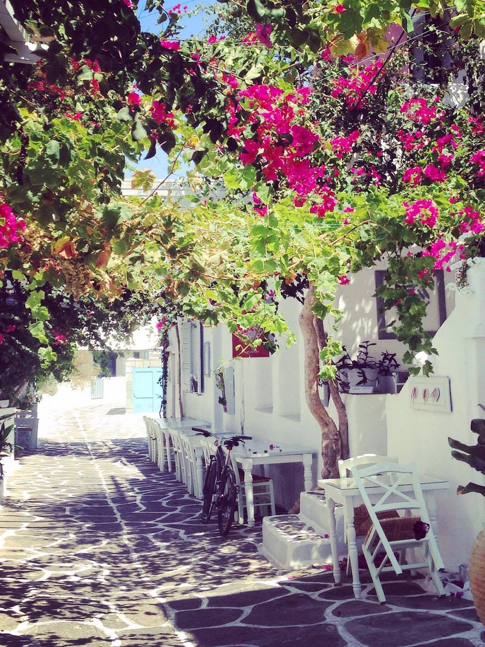 Village de Naoussa, Paros