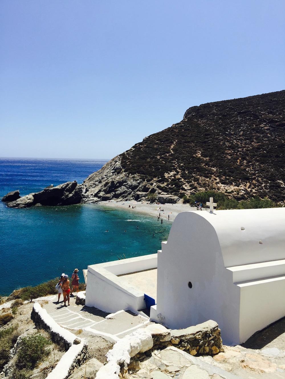 Crique Agios Nikolaos, Folegandros