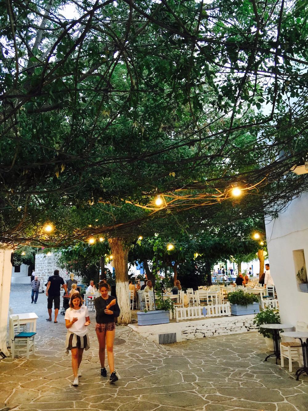 Village de Chora, Folegandros