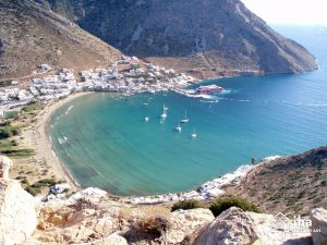 Sifnos plage Kamares