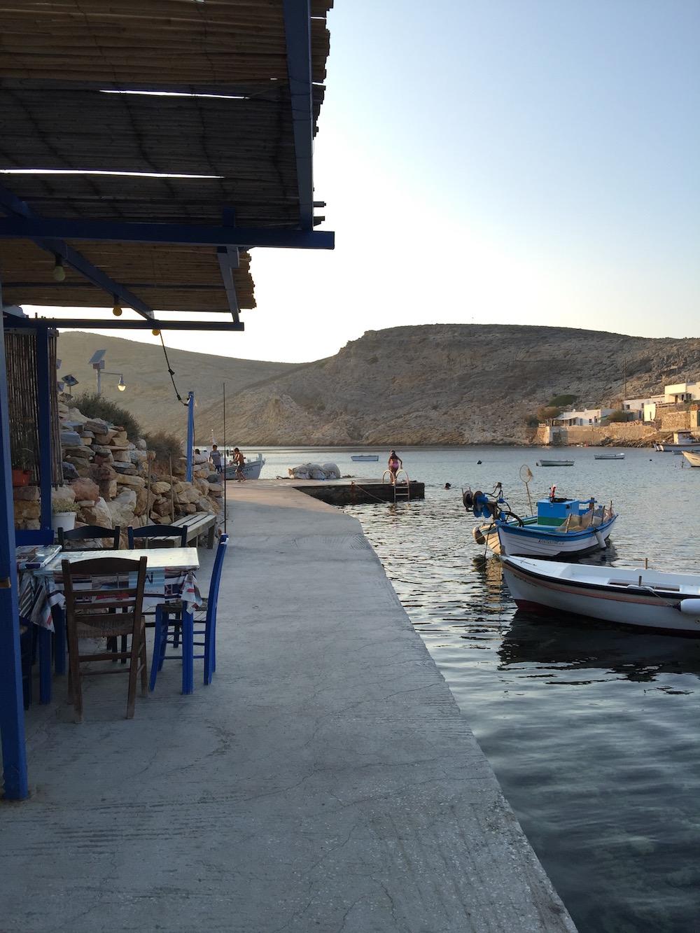 Grèce, Cyclades, cuisine grecque