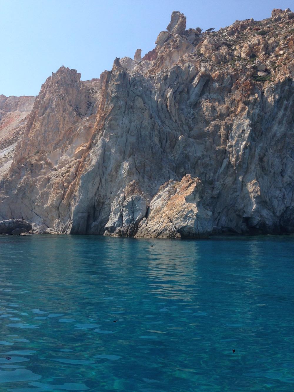 Tour de Milos en bateau