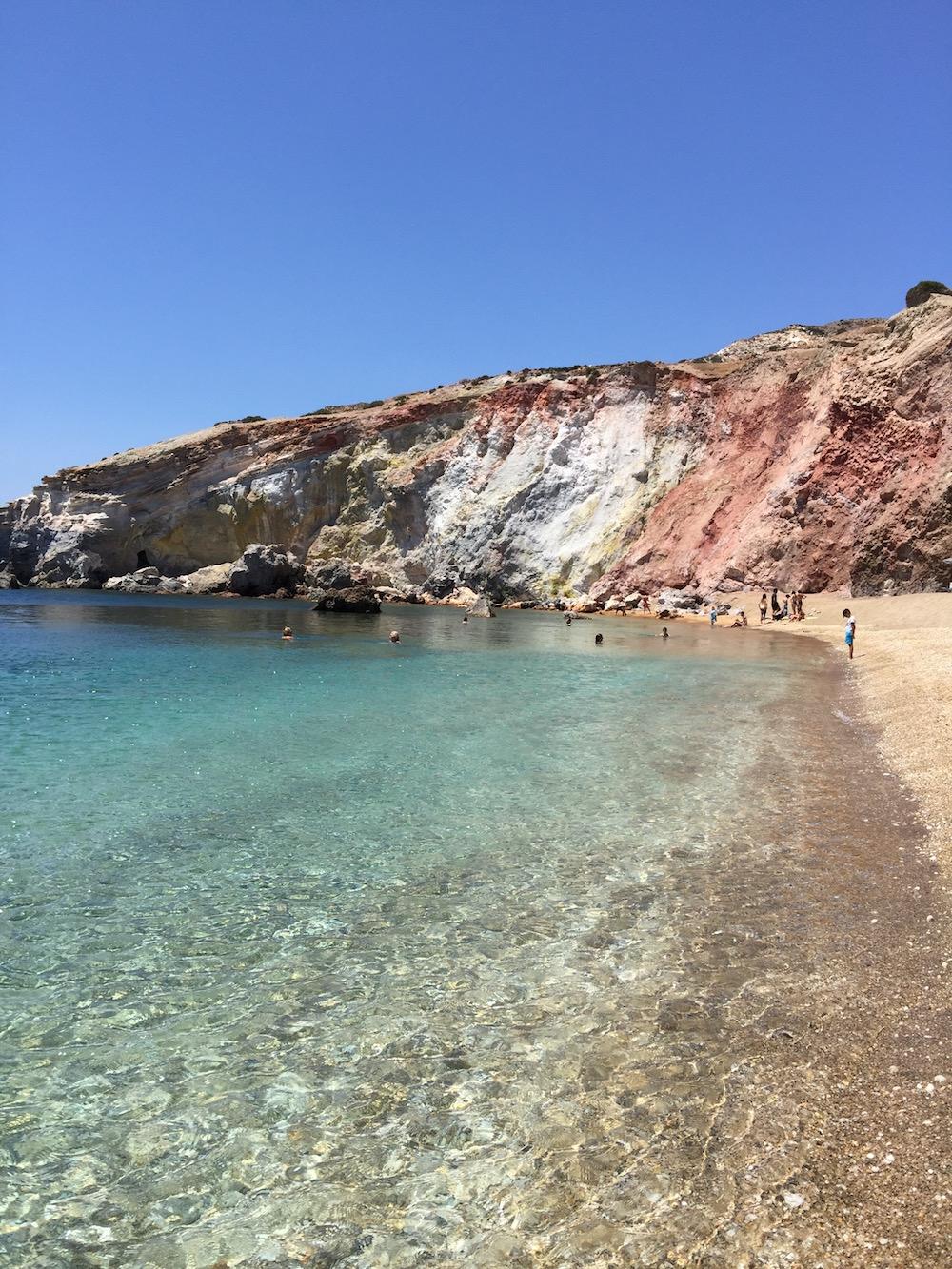 Plage de Paliochori, Milos