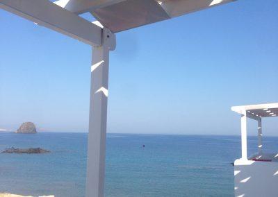 Chambre avec vue, Hotel Villa Tania, Milos