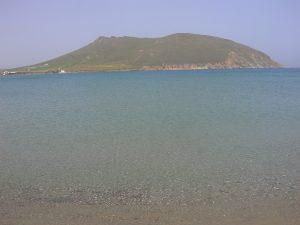 Paros, plage de Molos
