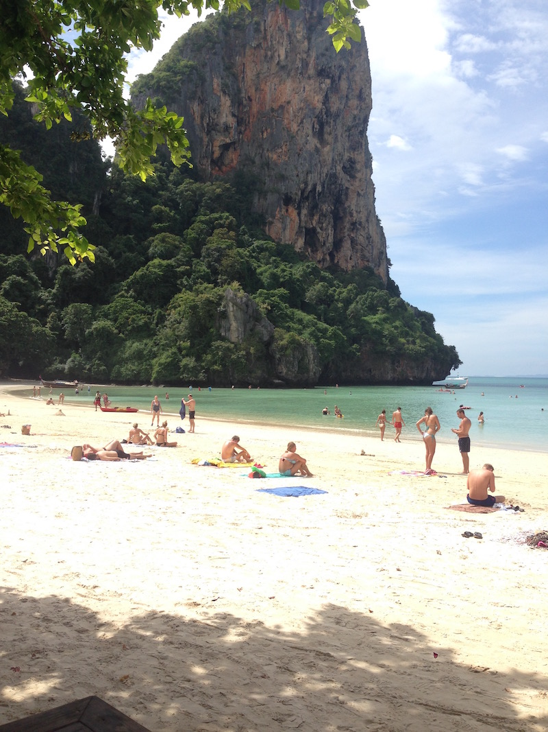 voyage Thaïlande Krabi plage de Railay Ouest