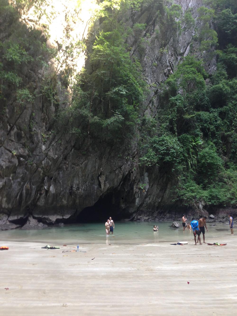 voyage Thaïlande Koh Ngai Emerald Cave