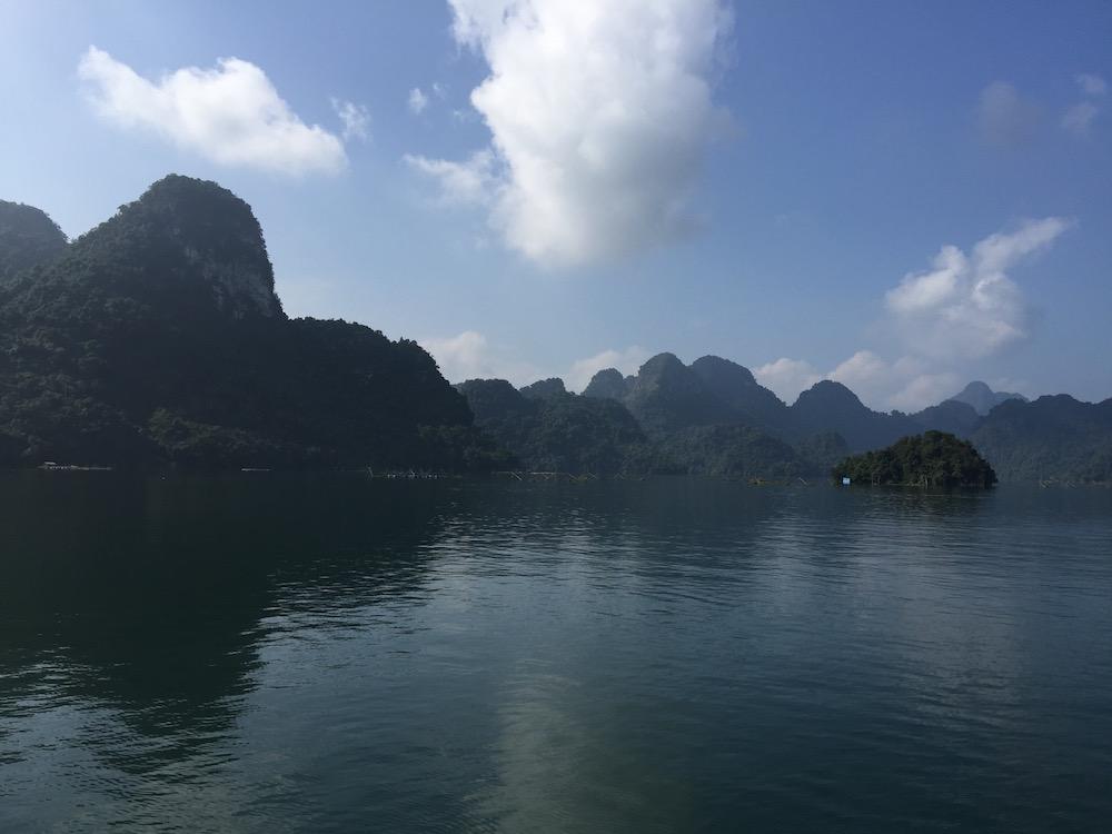 Nord Vietnam barrage Hoa Binh