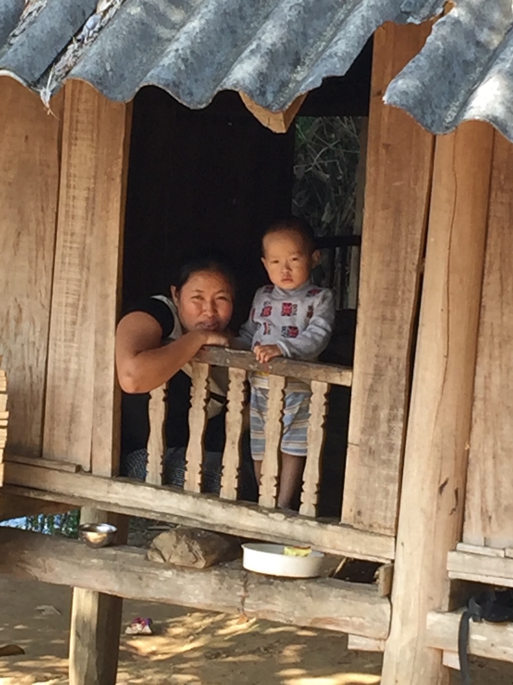 Nord Vietnam village Muong