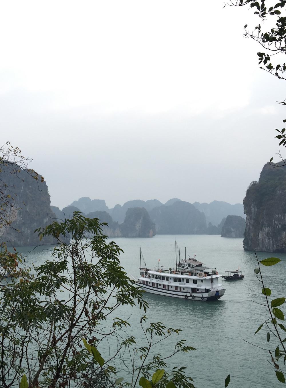 Baie d'Halong jonque