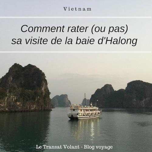 conseils pour visiter la baie d'Halong
