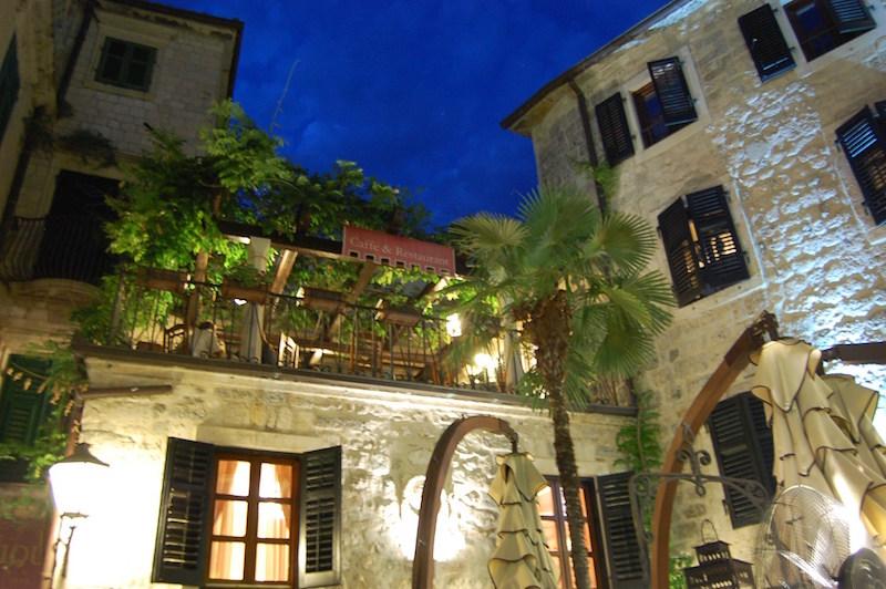 Restaurant Luna rossa, Kotor, Monténégro