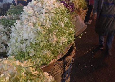 visiter Bangkok marché aux fleurs de Pak Khlong Talat