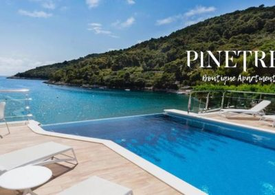 Pinetree boutique Apartments piscine
